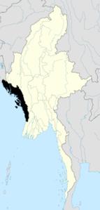 Rahkine State withing Myanmar (Burma).