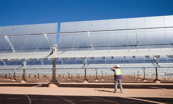 morocco solar power