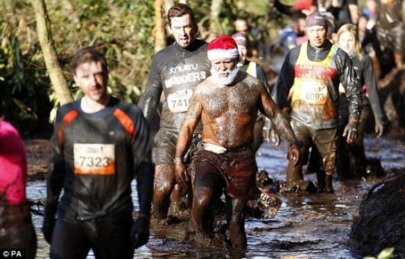 muddy santa