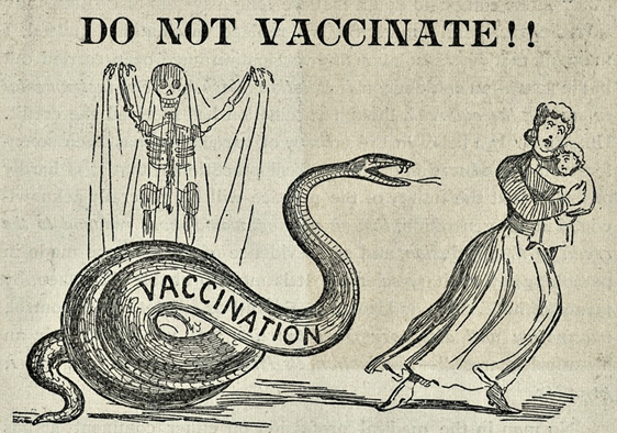 old vaccine poster