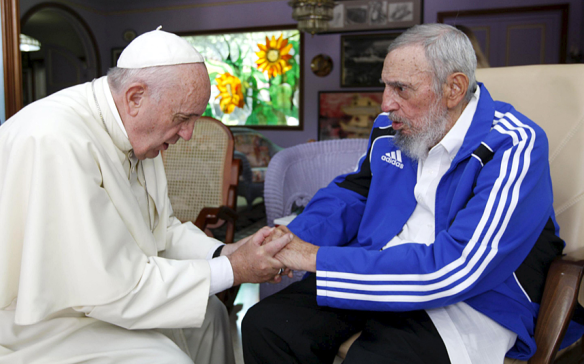 pope and castro