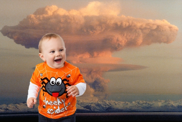 baby mushroom cloud